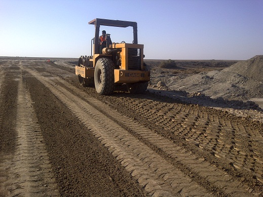 Access Road Construction at West Qurna 2 Power plant