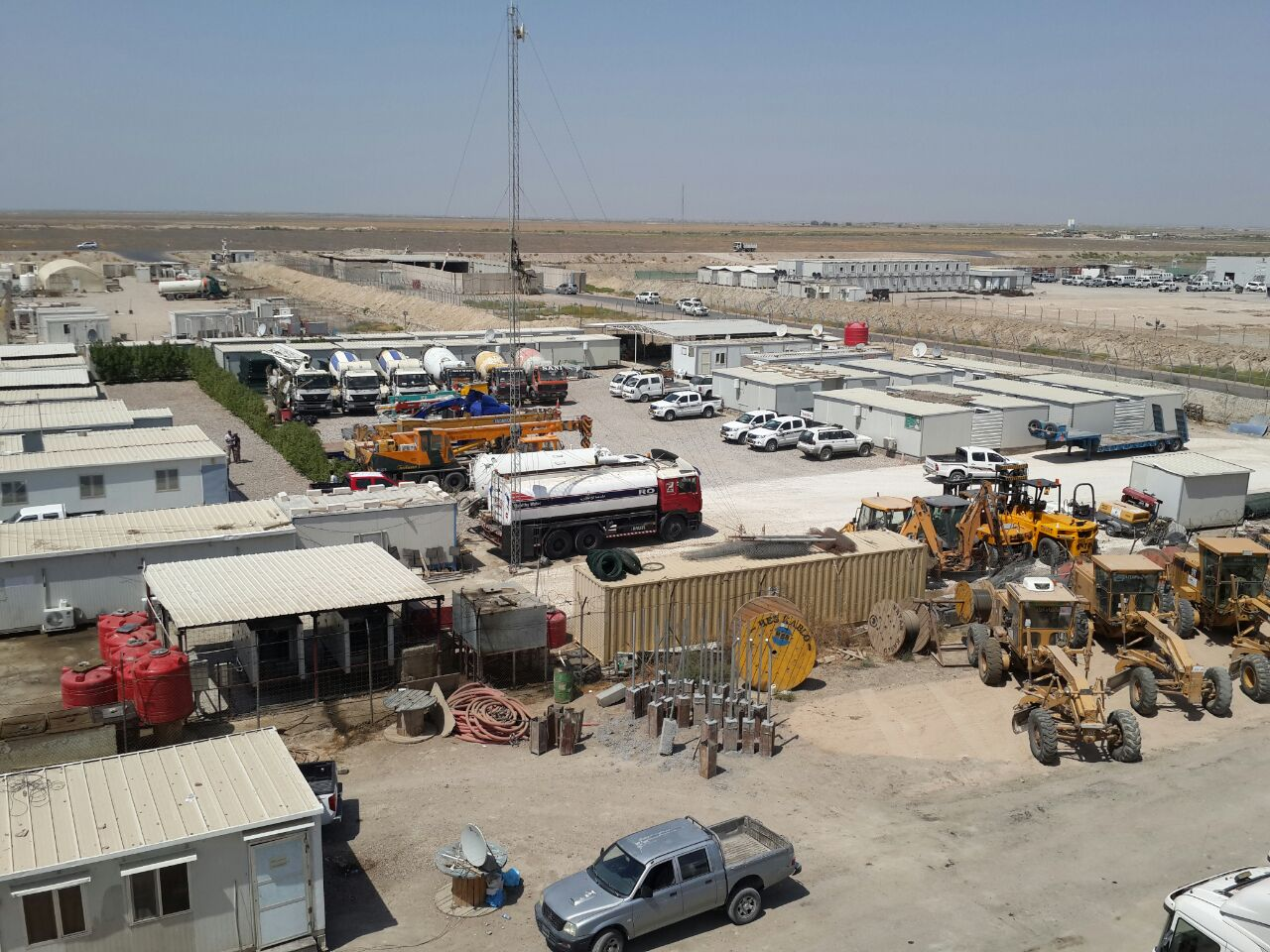 Earthworks and Concrete Works for Cluster 8, 7 and 2 at West Qurna 2 Field